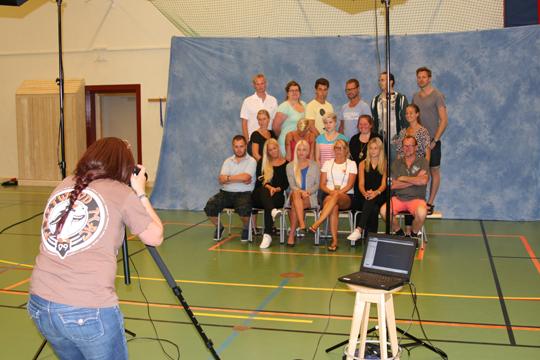 Gruppfotografeering